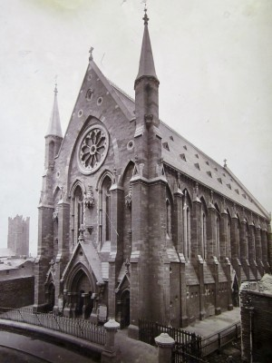 St. Mary of the Angels, Church Street, Dublin. Courtesy of the Franciscan Archives.