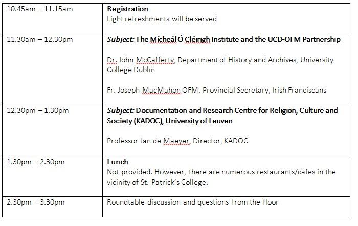 ACAI Seminar Schedule